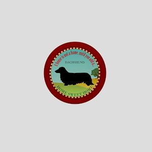 Dachshund [long-haired] Mini Button